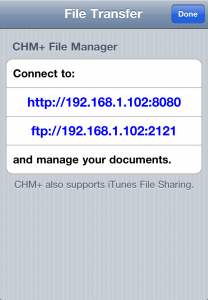 ChmPlus Reader (CHM+) - the best CHM reader for iPad, iPhone