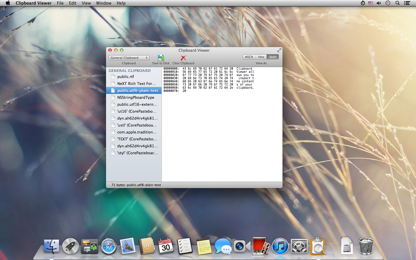 A command-line interface to the Mac OS X Pasteboard