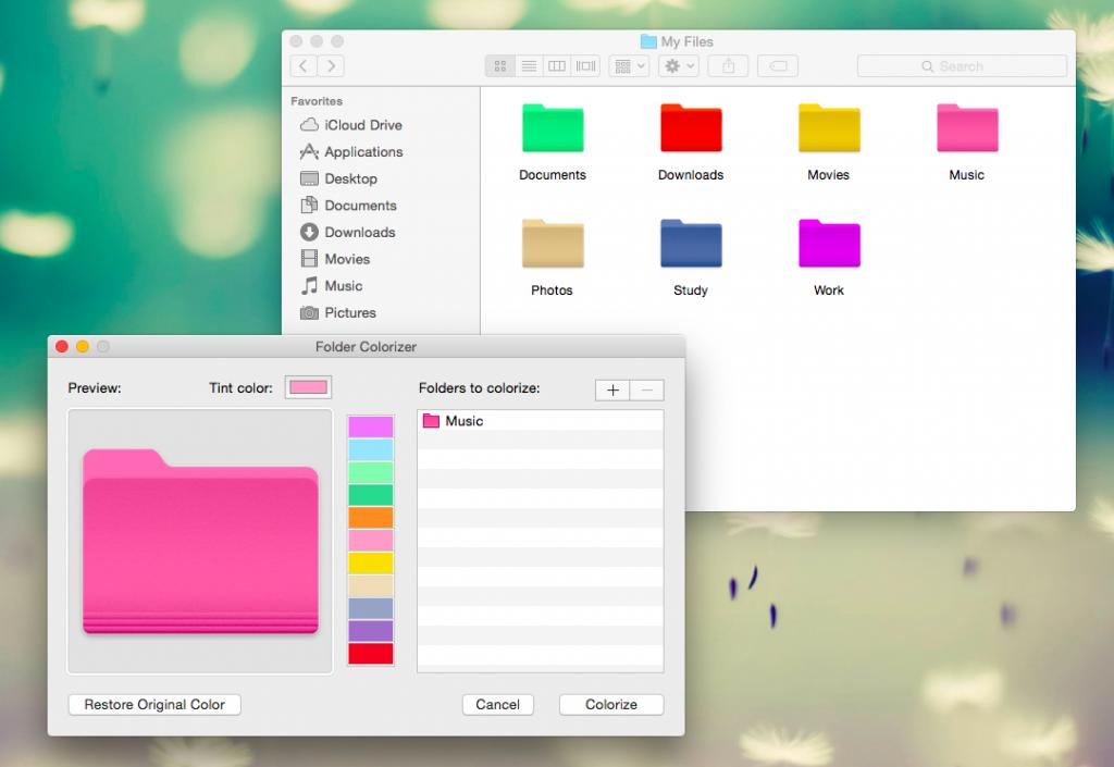 Apply custom colors to your windows explorer folders with folder.