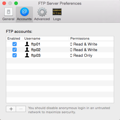 how to connect to ftp server mac